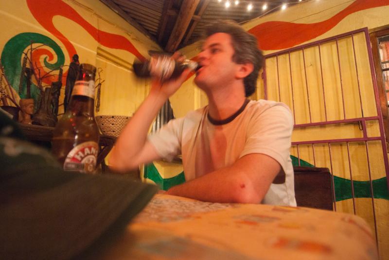 shad drinking