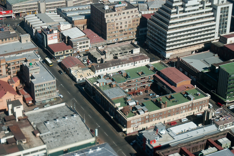 courtyard, downtown johannesburg
