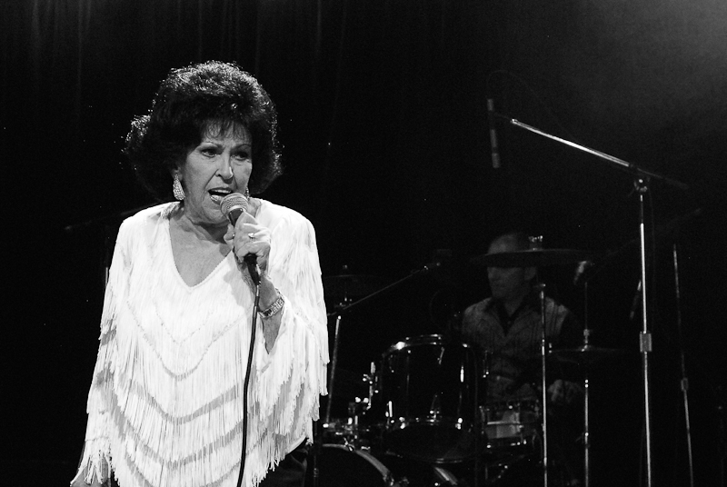 wanda jackson at slim's san francisco
