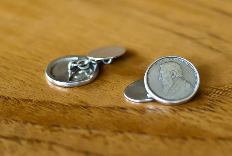 tickey cuff links
