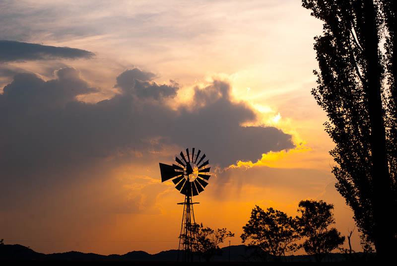 another karoo sunset