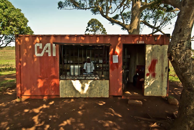 container tuck shop