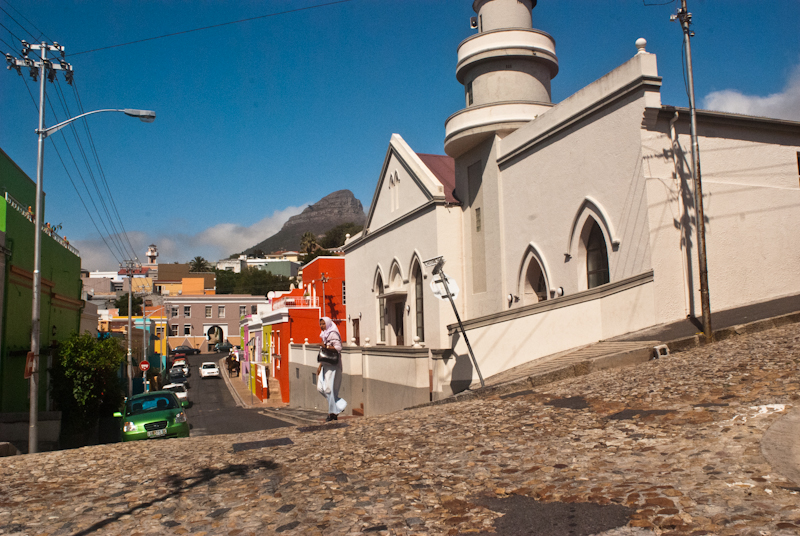 walking in bo kaap