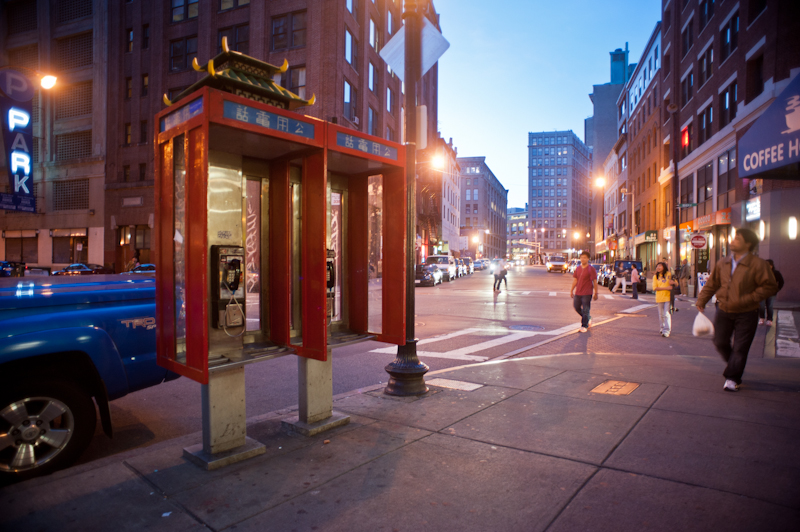 chinatown payphone