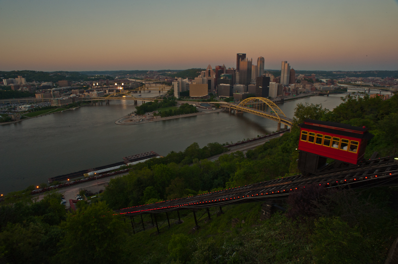 the classic view of pittsburgh
