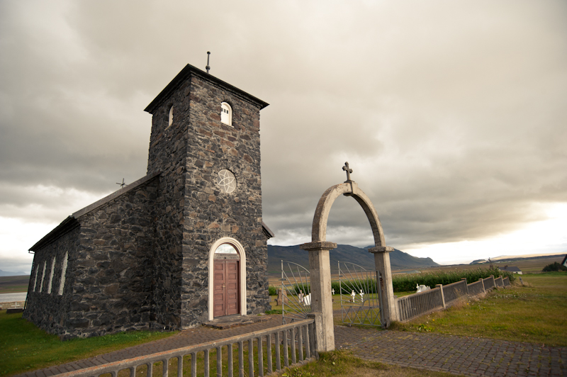 historic church in iceland