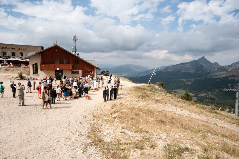 wedding on top of the mountain