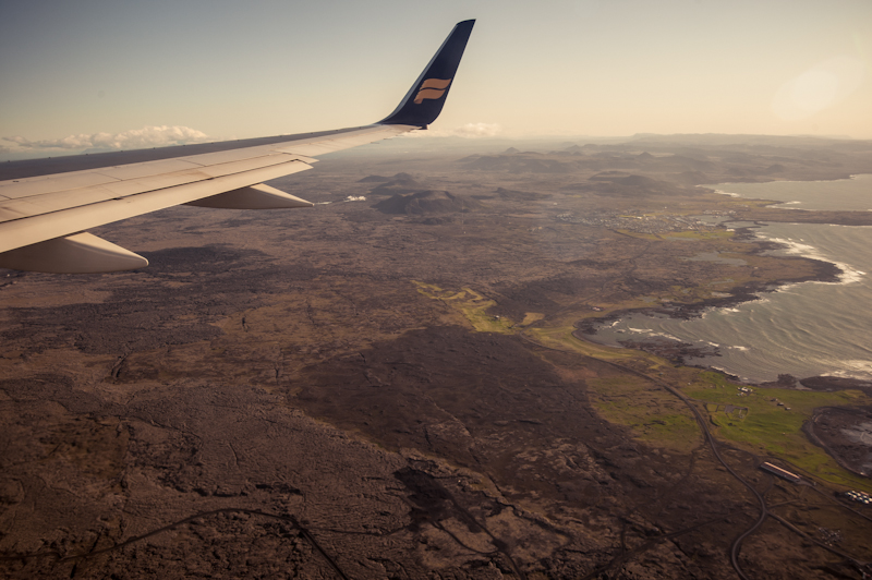 coming into keflavik