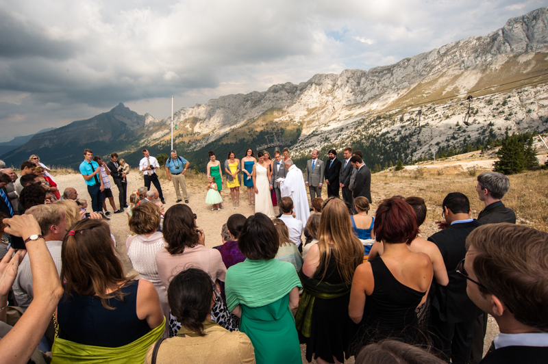 wedding on top of a mountain, part 2