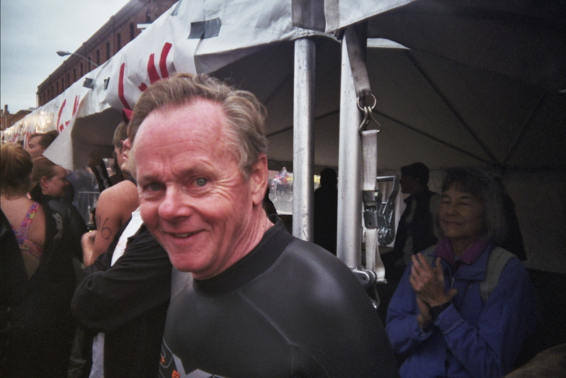 dad in wetsuit, 2008