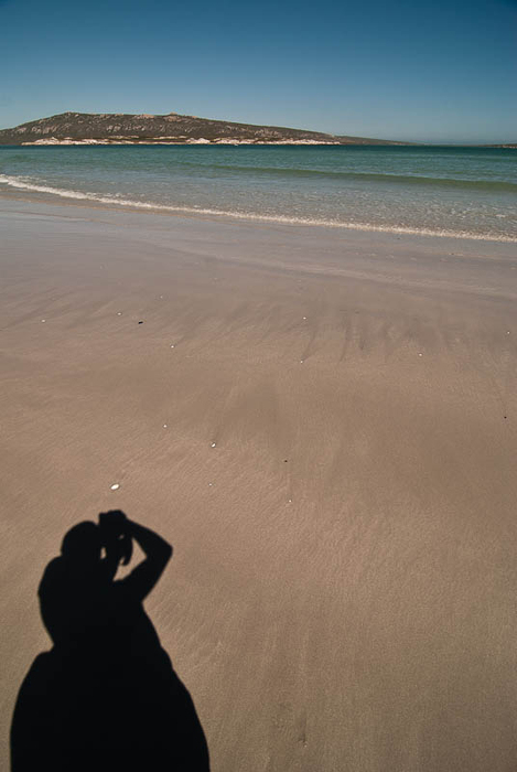 self portrait at langebaan