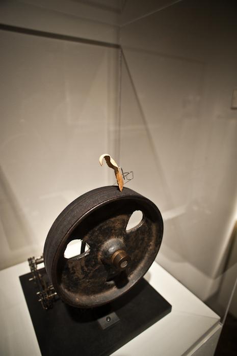 machine with artichoke petal