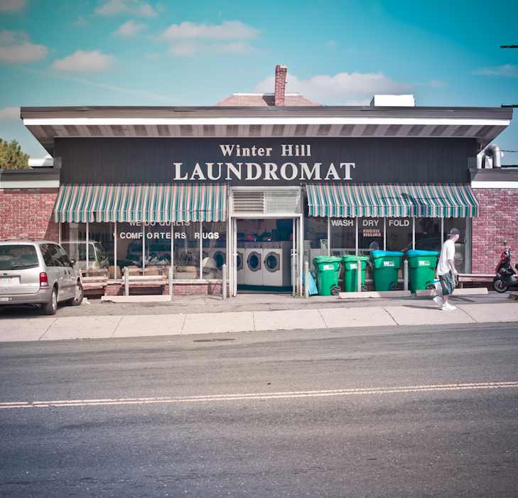 winter hill laundromat, #2